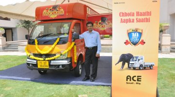 Tata Ace celebrates its 10th anniversary with over 1.5 million units sold - IAB Report