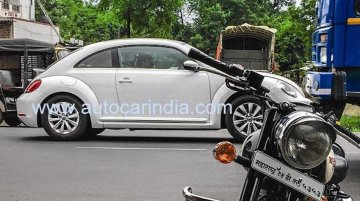Latest VW Beetle caught testing on Indian roads - Spied