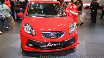 2015 Honda Brio (facelift) - IIMS 2015 Live