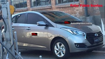 2016 Hyundai HB20 (facelift) caught undisguised - Spied