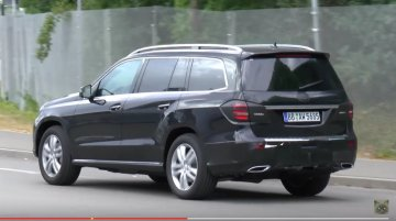 2016 Mercedes GLS caught with minimal camouflage - Spied [Video]