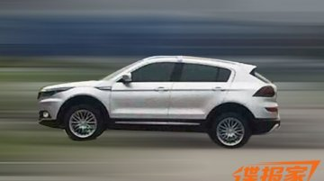 2016 Qoros SUV spotted undisguised - Spied