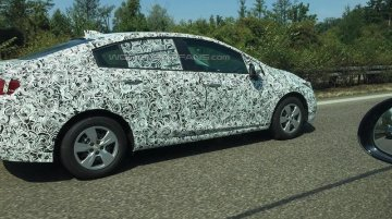 India-bound 2017 Chevrolet Cruze spotted testing in Europe - Spied