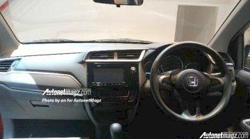 Honda BR-V interior revealed, gets unique design - Spied