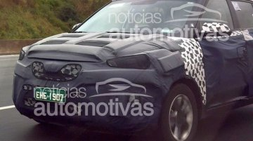 Hyundai ix25 spotted testing in Brazil for the first time - Spied