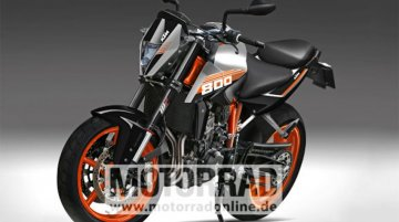KTM Duke 800 rendered, could be manufactured in India - Report