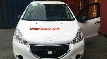Peugeot 208 premium hatch spotted in Mumbai - Spied