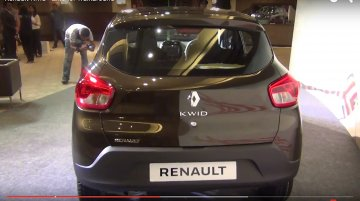 Renault Kwid Exterior and Interior walk-through - Video