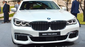 India-bound 2016 BMW 7 Series (G11/G12) - 2015 Frankfurt Live (Updated)