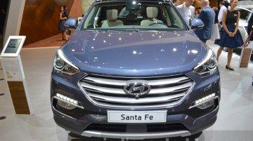 2016 Hyundai Santa Fe (facelift) - 2015 Frankfurt Motor Show Live