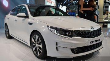 2016 Kia Optima – 2015 Frankfurt Motor Show Live