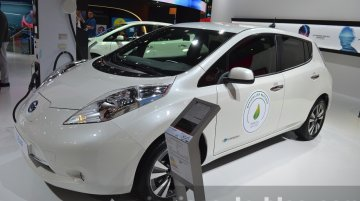 2016 Nissan Leaf with 30kWh battery unveiled - 2015 Frankfurt Motor Show Live