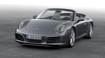 2016 Porsche 911 Carrera (facelift) unveiled; gets turbo 3.0L engine – IAB Report