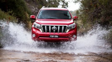2018 Toyota Land Cruiser Prado (facelift) to release in September - Report
