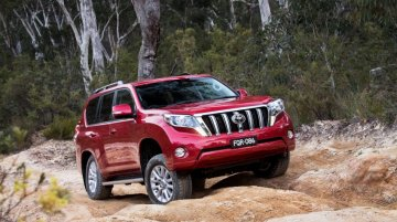 2017 Toyota Land Cruiser Prado facelift to launch in Japan this July - Report