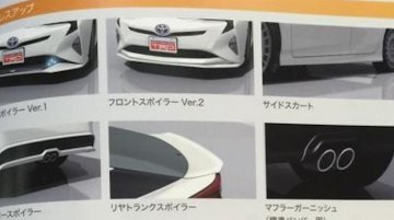 2016 Toyota Prius TRD bodykit leaked in staff manual - Report