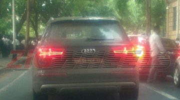 Audi SQ7 snapped testing in Mumbai ahead of global launch - Spied