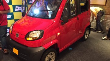 Bajaj Qute launched in India, priced at INR 2.63 lakh