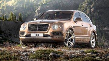 Bentley Bentayga revealed ahead of Frankfurt debut - Videos