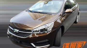 Production-spec Chery Arrizo 5 spotted undisguised in China - Spied