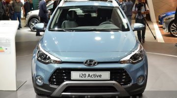 Hyundai i20 Active for Europe - 2015 Frankfurt Motor Show Live