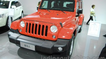 Jeep Wrangler Unlimited Sahara edition – 2015 Chengdu Motor Show Live