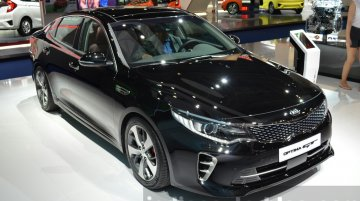 Kia Optima GT – 2015 Frankfurt Motor Show Live