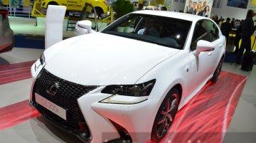 2016 Lexus GS F Sport, GS450h (facelift) - 2015 Frankfurt Motor Show Live