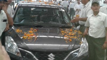 Suzuki Baleno (Maruti YRA) production starts in India - Report
