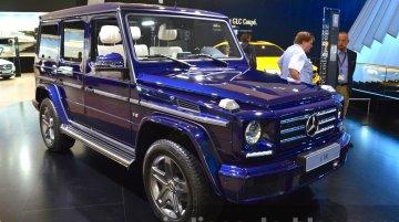 2015 Mercedes G 500 - 2015 Frankfurt Motor Show Live