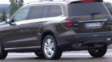 Mercedes GL facelift (Mercedes GLS) to debut at this year's LA Auto Show - Report