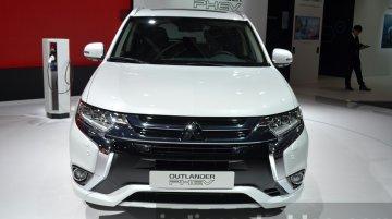 2016 Mitsubishi Outlander PHEV - 2015 Frankfurt Motor Show Live