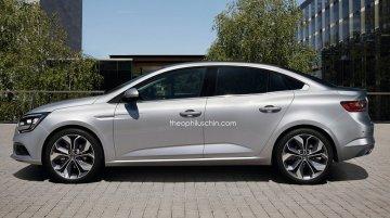Next generation Renault Fluence - Rendering