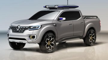 Renault Alaskan Concept unveiled, previews new global pick-up - IAB Report