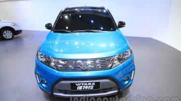 Suzuki Vitara for China gets new taillamps, Boosterjet engine - 2015 Chengdu Motor Show Live