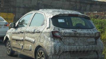Tata Kite hatchback spied, wears 175/65 R14 Bridgestone tyres - Report