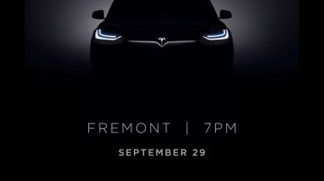 Tesla Model X's headlights teased ahead of September 29 launch - IAB Report