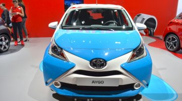 New Toyota Aygo x-clusiv special edition - 2015 Frankfurt Motor Show Live