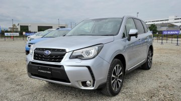 2016 Subaru Forester (facelift) in the metal - In Images