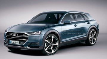 Audi Q6 sports crossover - IAB Rendering