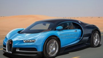 Bugatti Chiron technical specs surface, 0-300 km/h in 15 seconds - Report