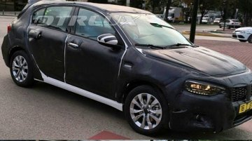 Fiat Tipo hatchback (Fiat Egea hatchback) snapped for the first time - Spied