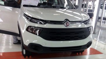 Fiat Toro snapped undisguised on assembly line - Spied