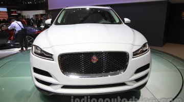India-bound Jaguar F-Pace showcased – 2015 Tokyo Live