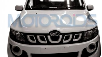 Mahindra Genio facelift leaked with fresh design language - Spied