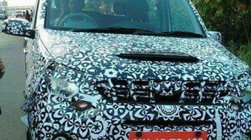 Mahindra Quanto facelift snapped up close in Navi Mumbai - Spied