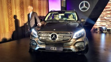 Mercedes GLE (M Class facelift) launched at INR 58.9 lakhs - IAB Report