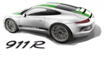 First image of the limited edition 'Porsche 911 R' emerges - Report