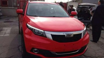 Qoros 5 crossover spotted undisguised, reveals final design - Spied