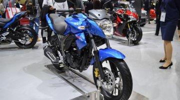 India-made Suzuki Gixxer showcased at Tokyo - IAB Report